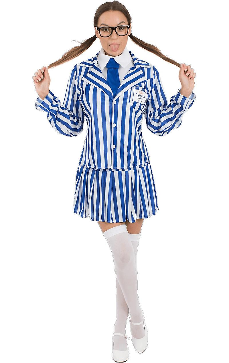 Orion Costumes Womens Supermarket Value School Girl Fancy Dress Costume