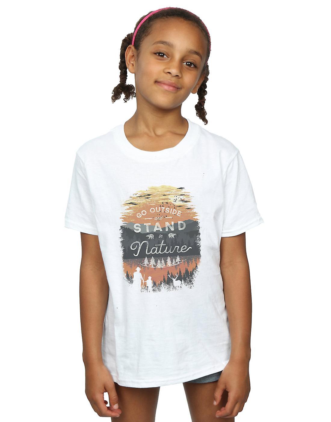 Dan Dingeroz Girls Stand In Nature T-Shirt