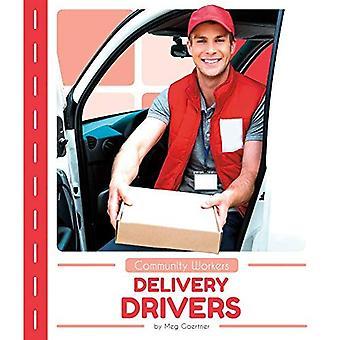 Conductores de la entrega (trabajadores comunitarios)