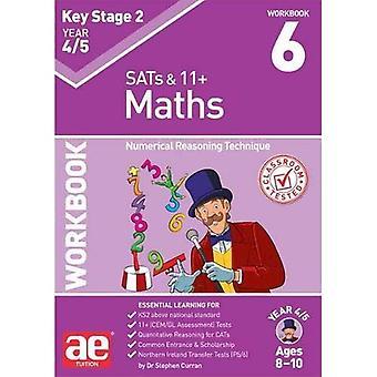 KS2 Matematik år 4/5 arbetsbok 6: numeriska resonemang teknik
