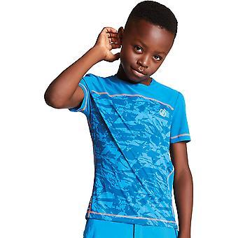 Uskalla 2B pojat & tytöt vilkasta kevyt nopeasti kuiva T-paita