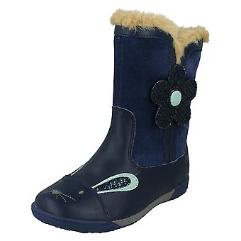 Girls Clarks Boots NibblesDot