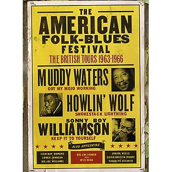 American Folk-Blues Festival: British Tours 1963-6 [DVD] USA import