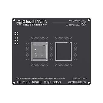 QianLi 3D BGA Stencil Template - A10 CPU Module - iPhone 7 - S350