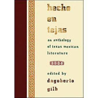 Hecho en Tejas-en antologi av Texas meksikansk litteratur-9780826341