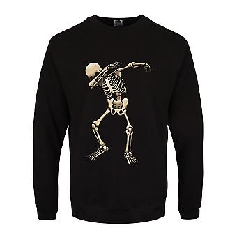 Grindstore Mens Skeleton Dab Sweater