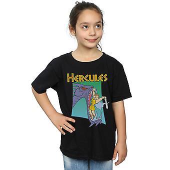 Disney Girls Hercules Hydra Fight T-Shirt