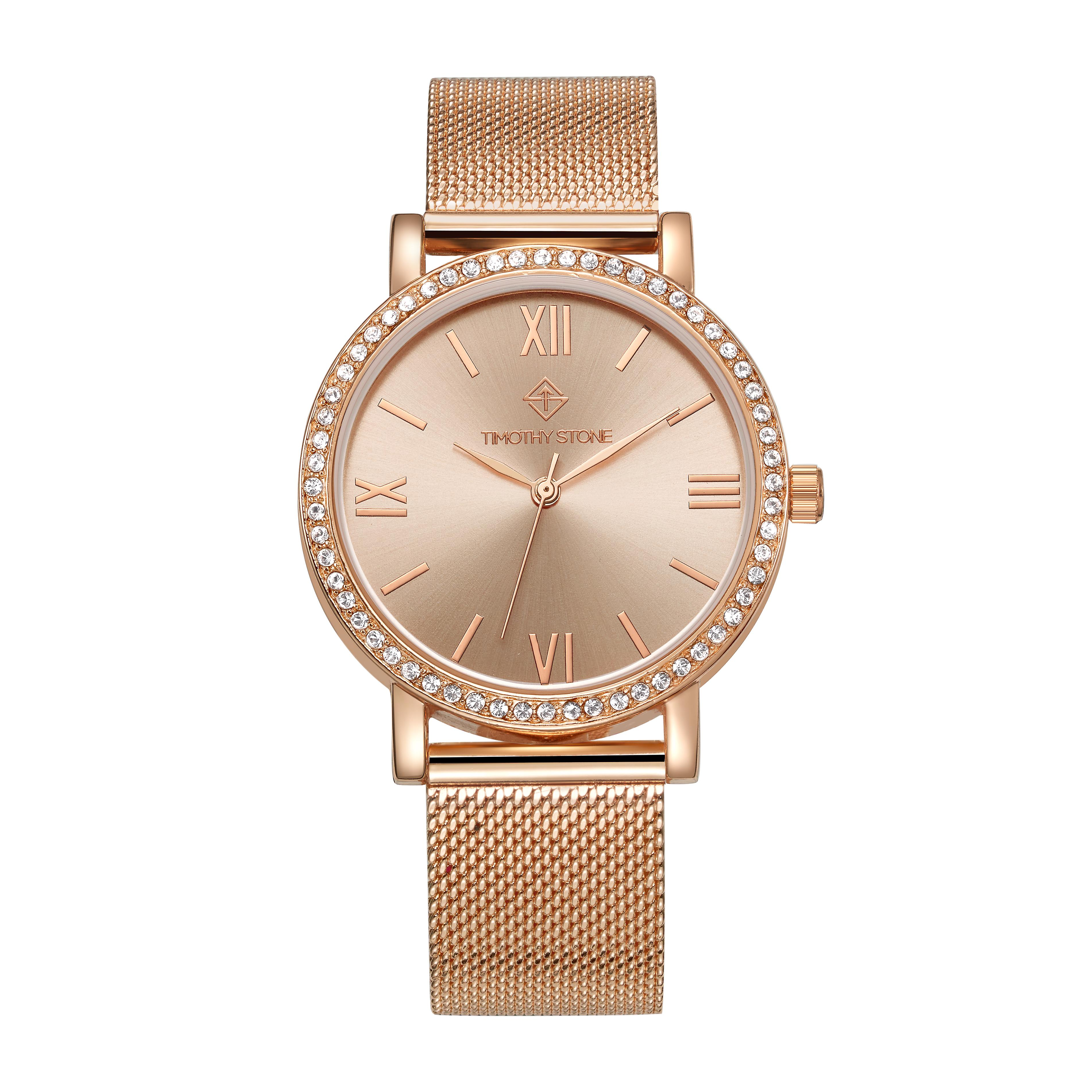 Timothy Stone Women�s INDIO Rose Gold Watch