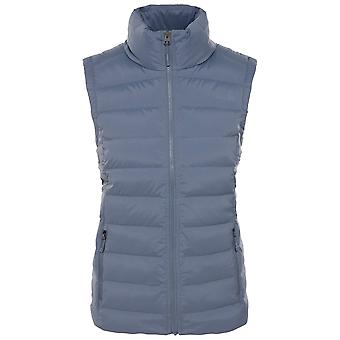 The North Face Grisaille grijze vrouwen stretch down vest