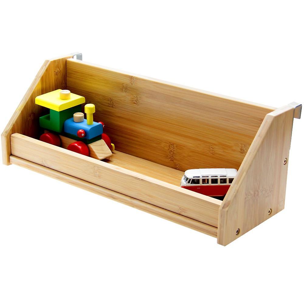 Woodquail Bamboo Clip on Bedside Hanging Toys Shelf (medium size) Children Beds & Bunks