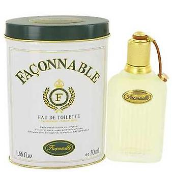 Faconnable door Faconnable Eau de Toilette Spray 1,7 oz (mannen) V728-413190