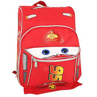 Small Backpack - Disney - Cars - Lighting McQueen Red Face New 1537