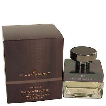 Banana republic zwarte walnoot eau de toilette spray door bananenrepubliek 458074 100 ml