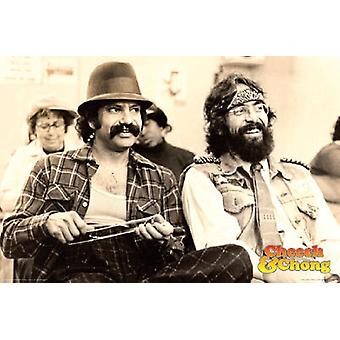 Poster - Cheech and Chong - Chill Wall Art Licensed Gifts Toys 241238