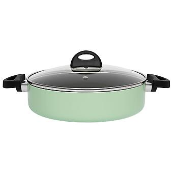 BergHOFF double-handle frying pan with lid 26cm green