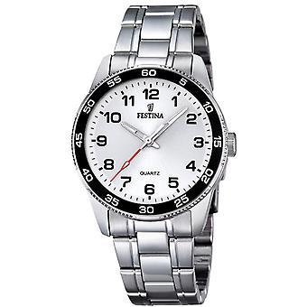 Feast Junior Quartz Analog Child Watch with Stainless Steel Bracelet F16905/1