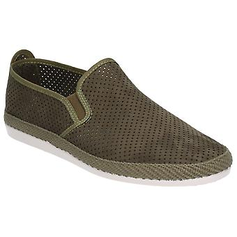 Flossy Mens Vendarval Slip On Shoe Khaki