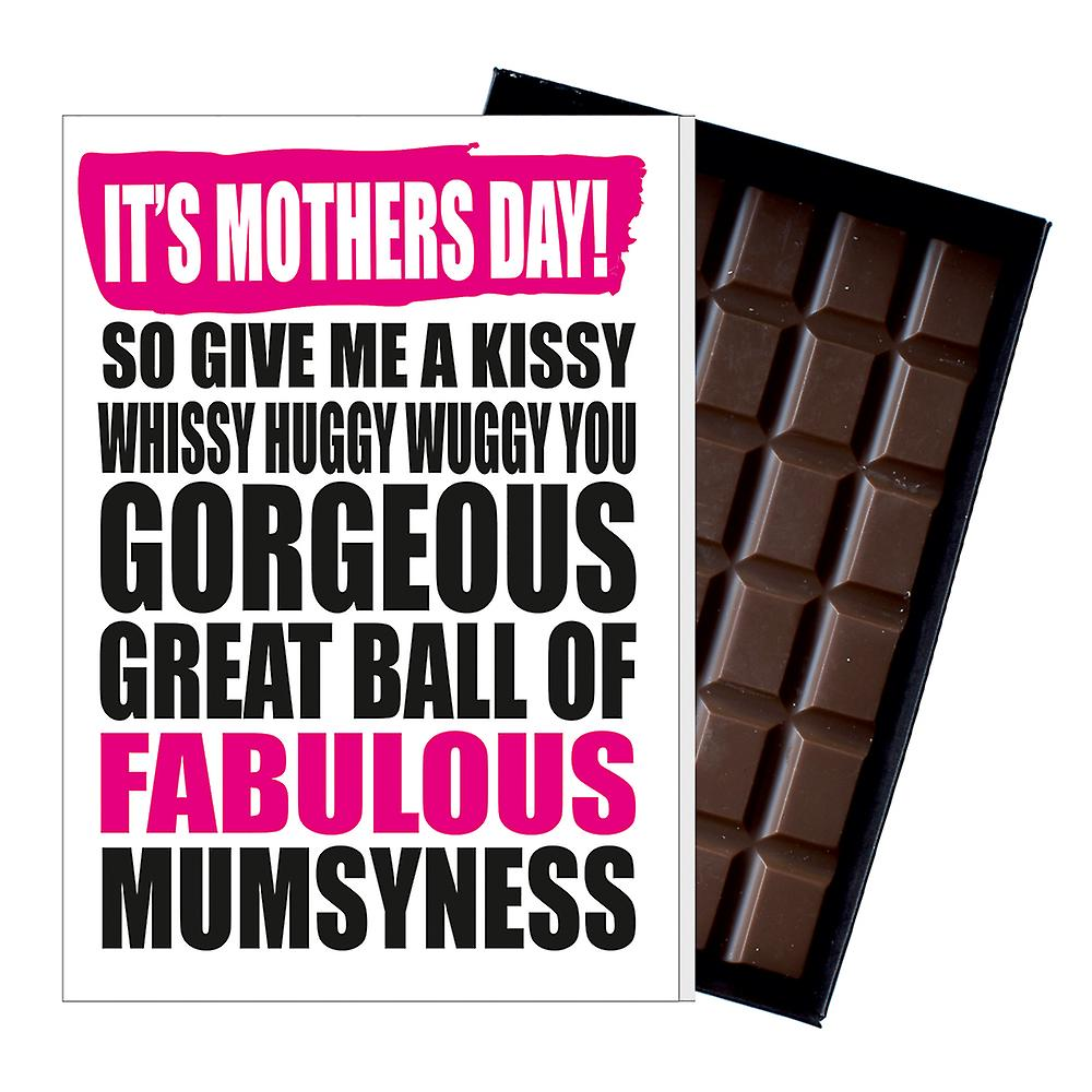 Funny Mother's Day Gift Boxed Chocolate Present Rude Greeting Card For Mom Mum Mumy MIYF130