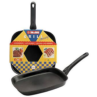 Ibili Smooth Square Mercury Grill 27X27 Cm (Kitchen , Household , Frying Pans)