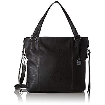 L.Credi Venezia - Black Woman shoulder bag 40 x 34 x 14 cm