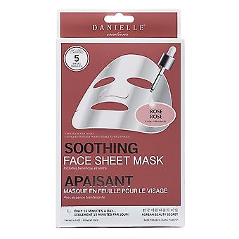 Danielle Creations Rose Soothing Sheet Mask