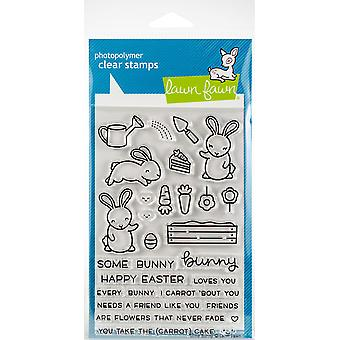 Lawn Fawn Some Bunny Clear Stamps