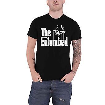 Entombed T Shirt Godfather Band Logo death metal new Official Mens Black
