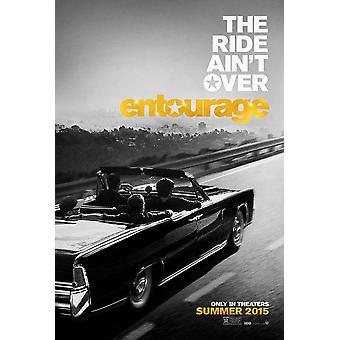 Entourage (2015) original filme poster duplo face Advance estilo