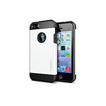 Iphone 5 5S Tough Armor Cover Case White