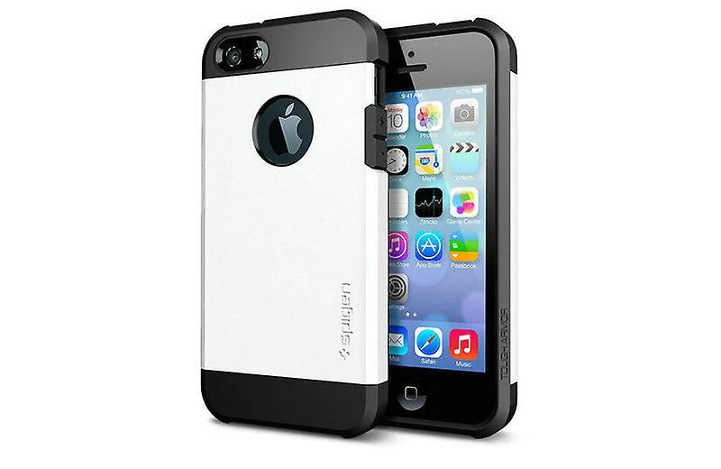 Iphone 5 5S Tough Armor Cover Case White