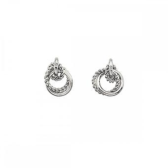 Hot Diamonds Sterling Silver Unity Circle Earrings DE610