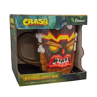 Crash Bandicoot-UKA UKA vormige mok gaming merchandise