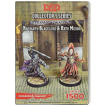 Naergoth Bladelord & Rath Modar D&D Collector's Series Rise of Tiamat Miniature
