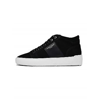 Android Homme  Android Homme Black Propulsion Mid Sneaker