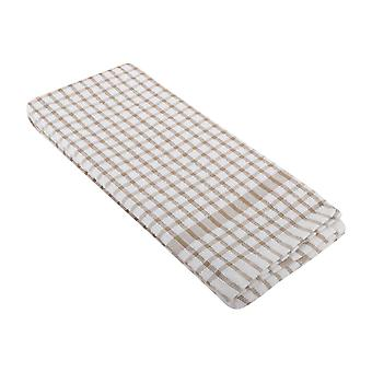 Daily Dining Unisex 2 Pack Checked Tea Towel