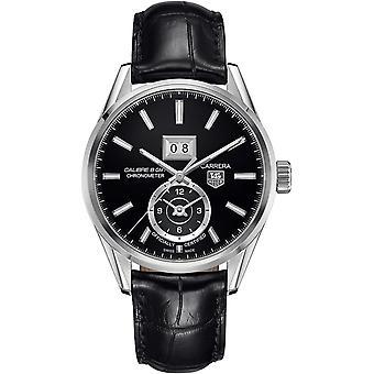 Tag Heuer Carrera automatique cuir Mens Watch WAR5010. FC6266
