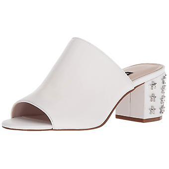Yhdeksän Länsi naisten fierceness nahka sandaali