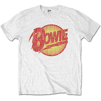 T-shirt officiel White David Bowie Logo