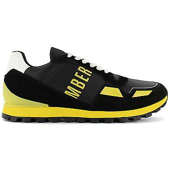 Bikkembergs Fend-er 2086 BKE108984 Men's Shoes Black Sneakers Sports Shoes