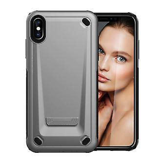 Für iPhone XS Max Case Silver Strong Shockproof Protective Cover