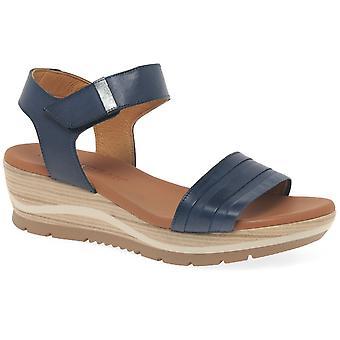 Paula Urban Bay Womens Wedge Heel Sandals