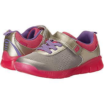 Stride Rite Unisex Boy's and Girl's Neo  Athletic Light-Up Mesh Sneaker