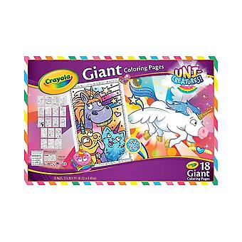Crayola Unicreatures Giant Colouring Pages