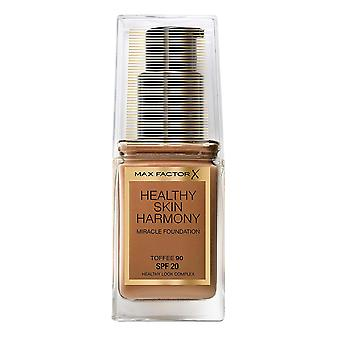 Max Factor Healthy Skin Harmony Miracle Foundation SPF20 30ml Toffee #90