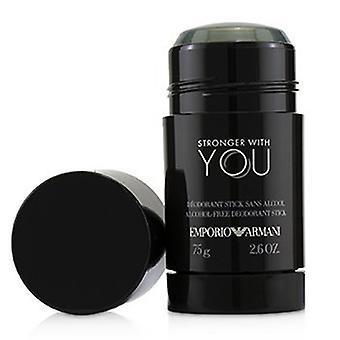 Giorgio Armani Emporio Armani silniejszy z tobą dezodorant stick 75g/2.6oz