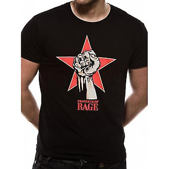 Prophets Of Rage Unisex Adults Power Fist Design T-shirt