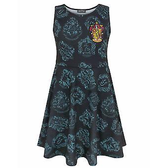 Harry Potter Gryffindor Crest Girl's Kids Skater Dress