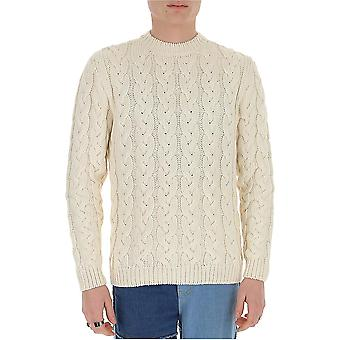 Alanui Lmhe003s20890180101 Men's White Cotton Sweater