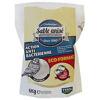 Tyrol Antibacterial Shell Sand With Aniseed (Birds , Bedding & Litter)