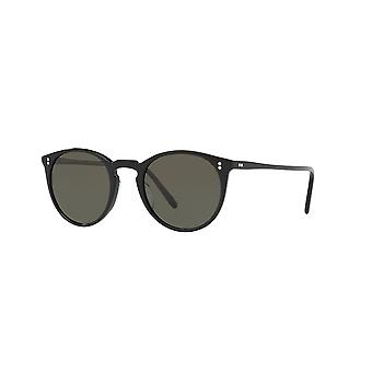 Oliver Peoples O'Malley SUN OV5183S 1005/P1 Black/Polarised Green Sunglasses